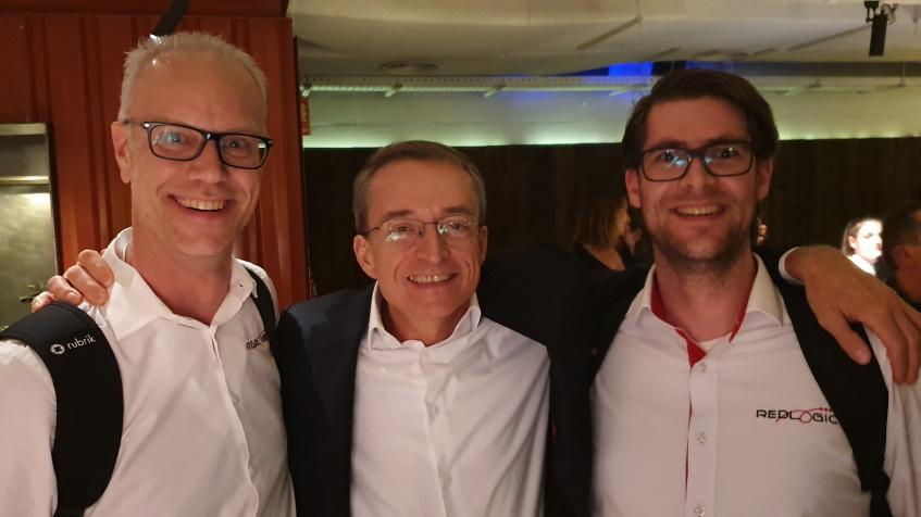 Met Pat Gelsinger op de vExpert party
