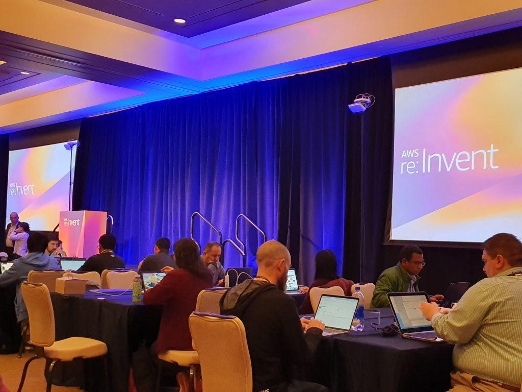 Workshops tijdens de re:Invent 2019